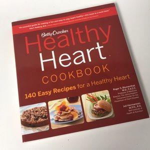 BETTY CROCKER Healthy Heart+Best Burger Cookbooks